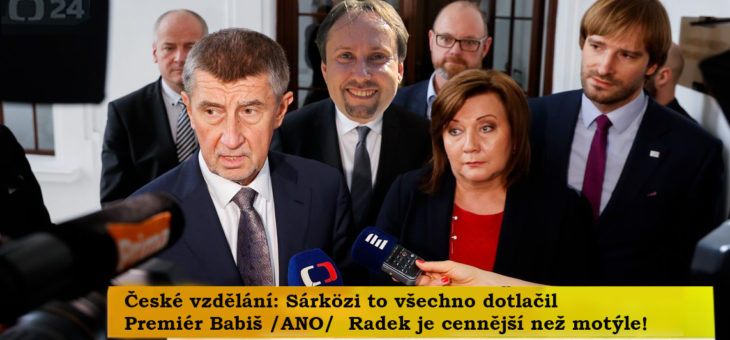 """""""Odborníci"""" ve spolku Pedagogická komora, díl 1.: RADEK SÁRKÖZI"""
